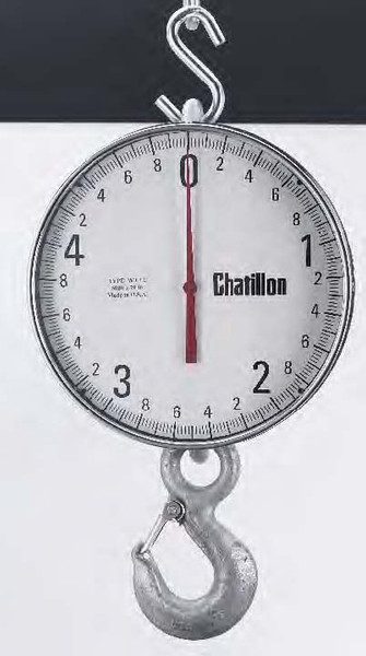 Chatillon WT12-00500K-EH Crane Scale with Eye Hook