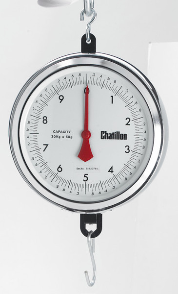 4260-X-H 4200 Series, 9-inch Hanging Dial Scale with Bottom Hook