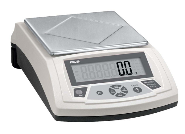 PNX SERIES DIGITAL PRECISION BALANCE SCALE WITH BUILT-IN RS232 AND ADAPTER INCLUDED, 1000G X 0.1G (PNX-1001)