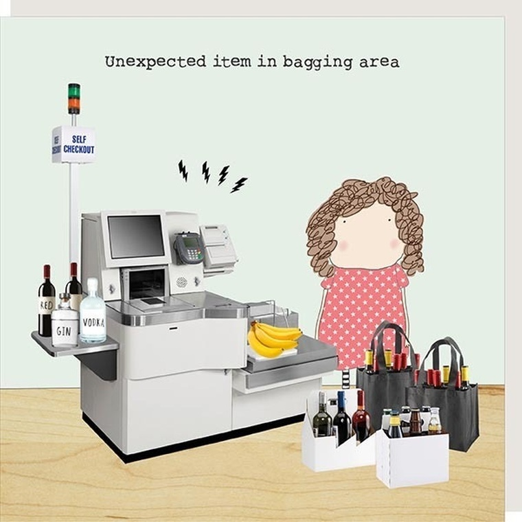 Bagging Area- Rosie Made A Thing Card