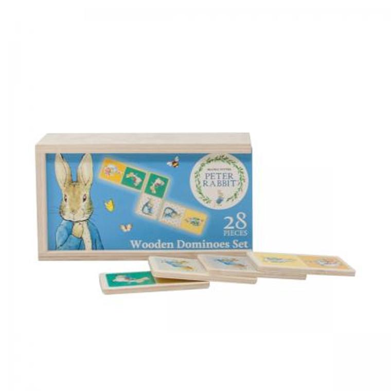 Wooden Dominoes- Peter Rabbit