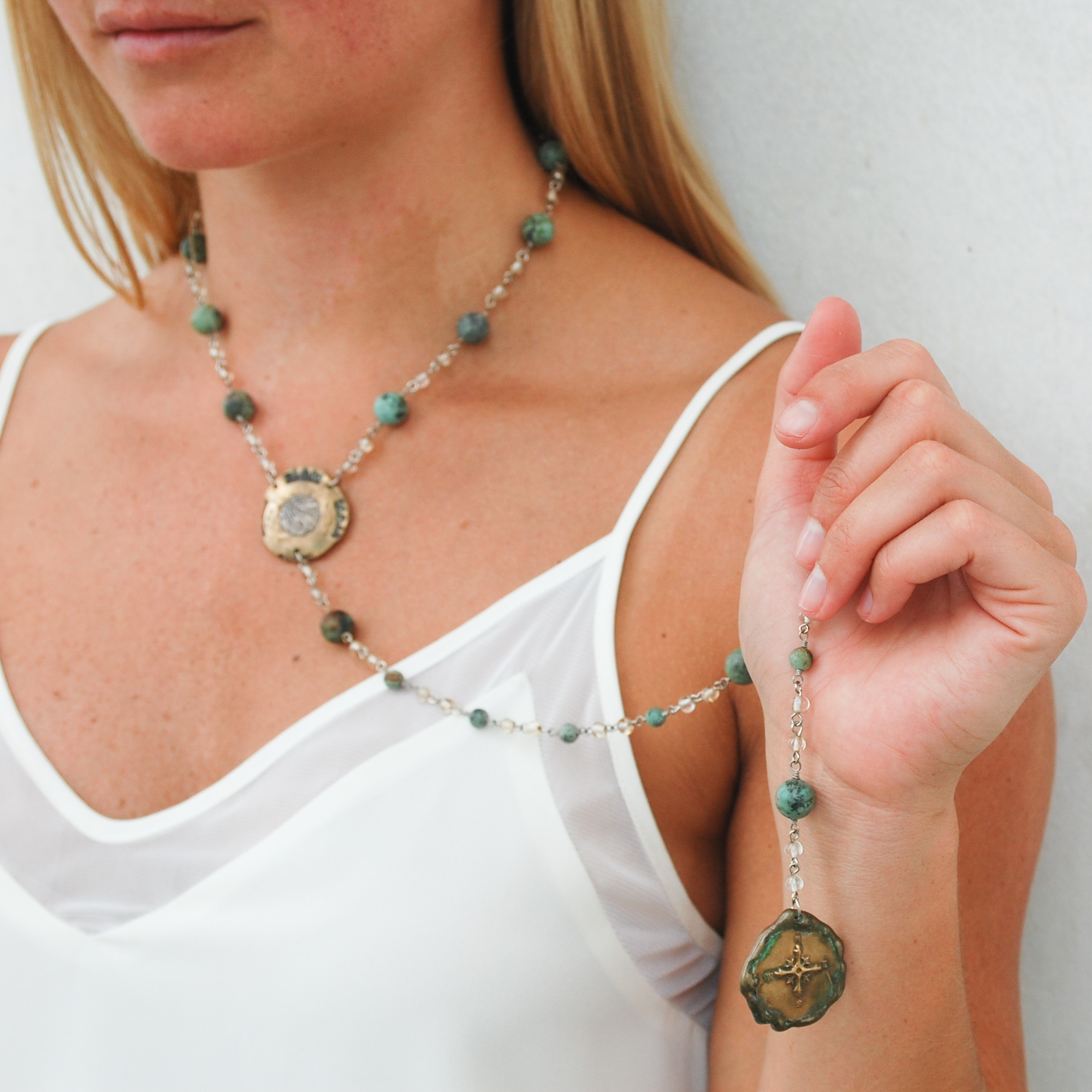 Wanderlust Turquoise Necklace