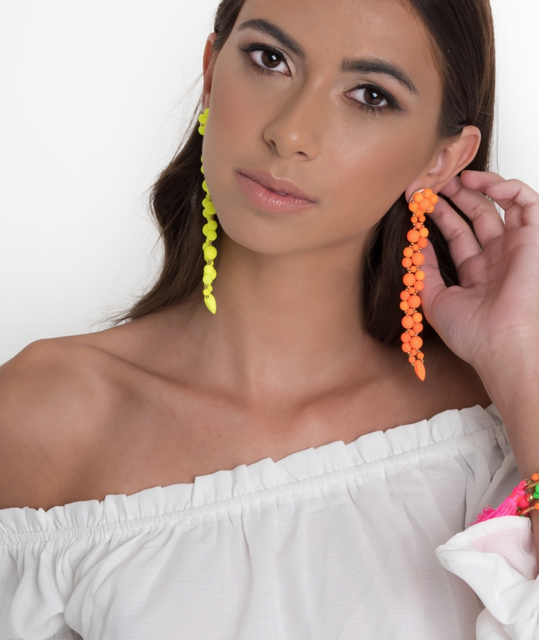Forever Fiesta Earrings in Pink