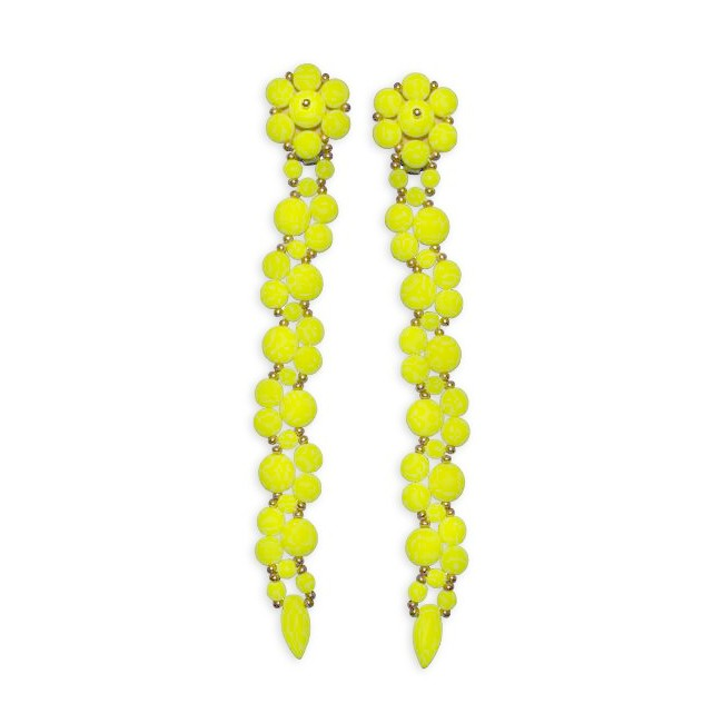 Forever Fiesta Earrings in Yellow