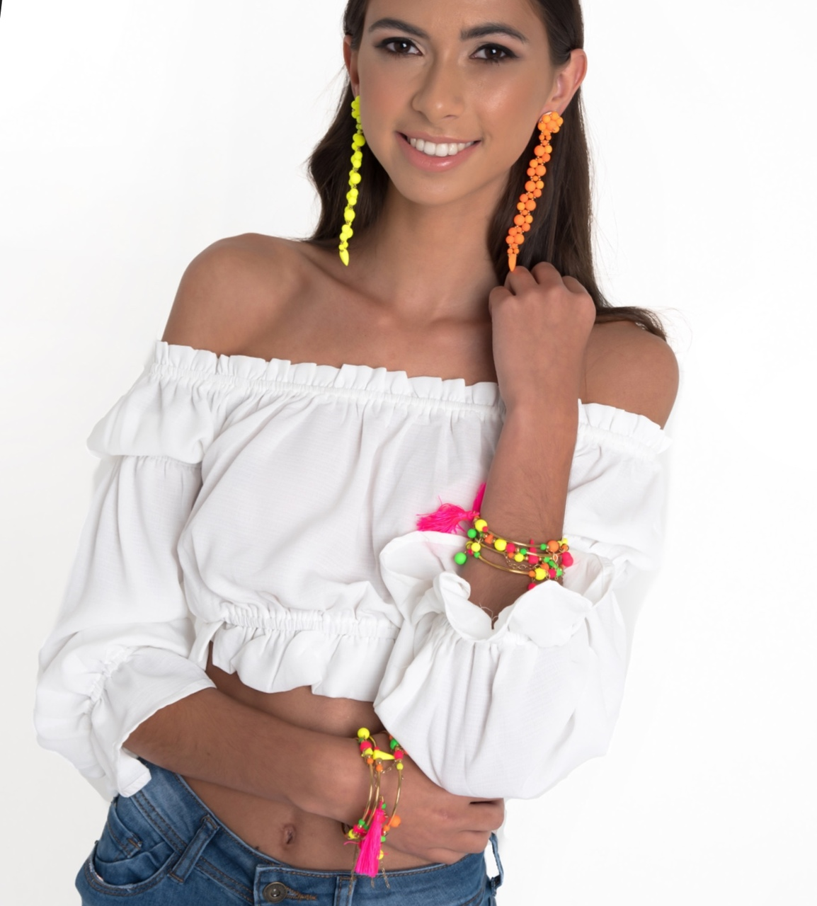 Forever Fiesta Earrings in Orange