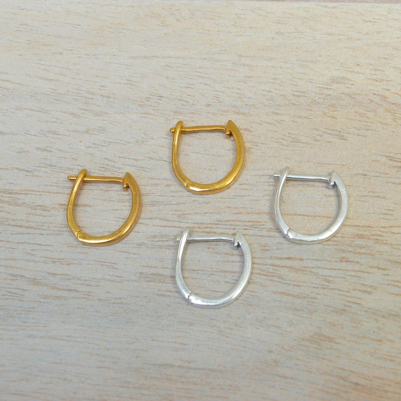 Huggie Earrings in Gold
