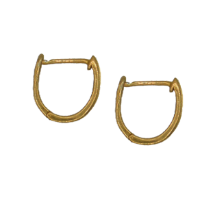 Huggie Earrings in Gold