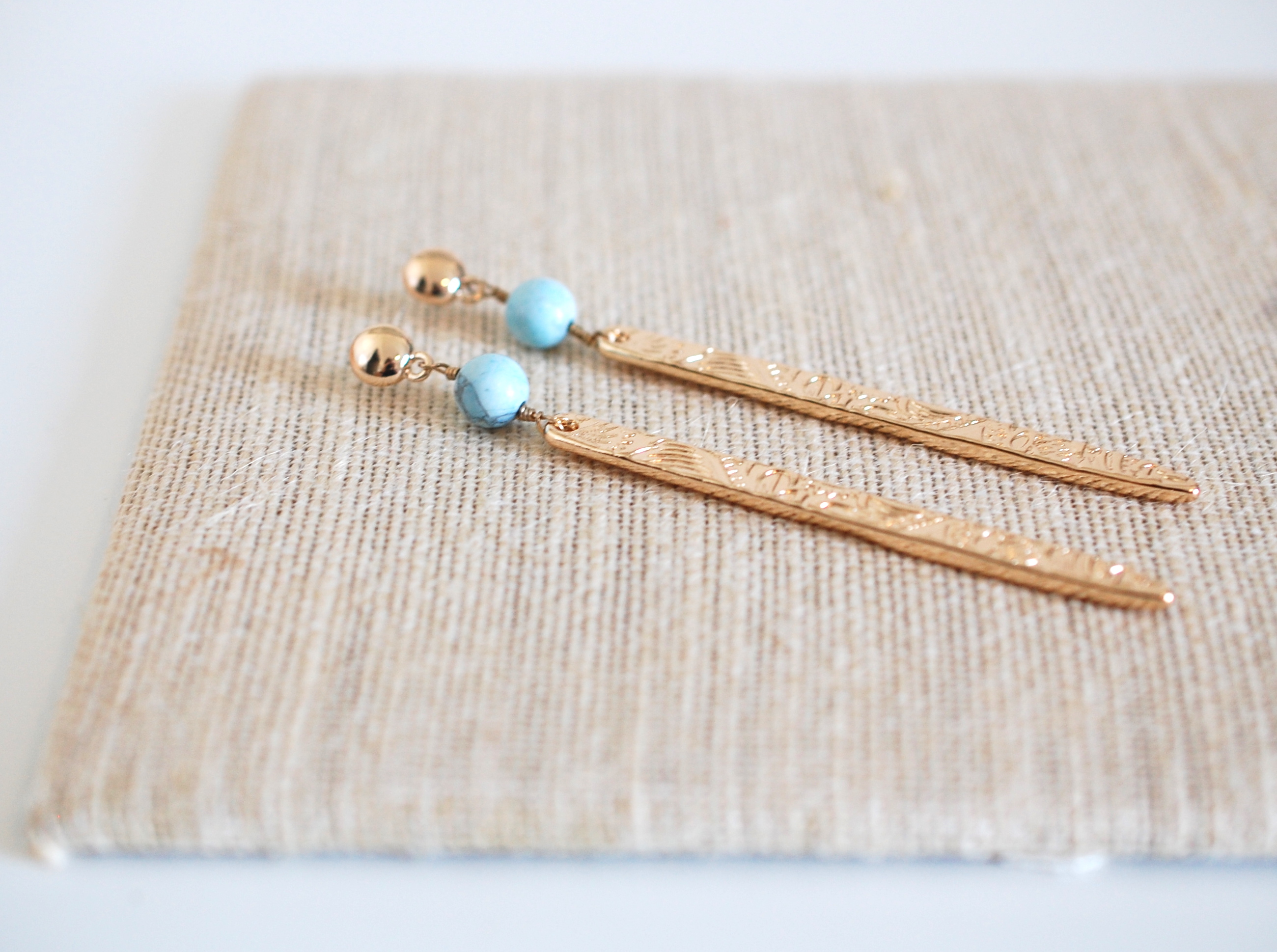 Meet Me At The Bar Earrings in Turquoise