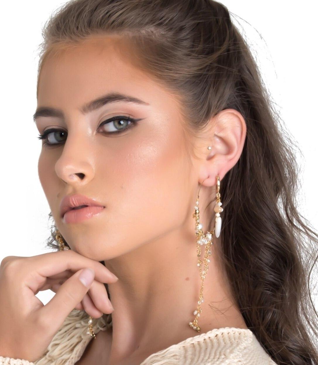 Shore Lovin' Huggie Earrings