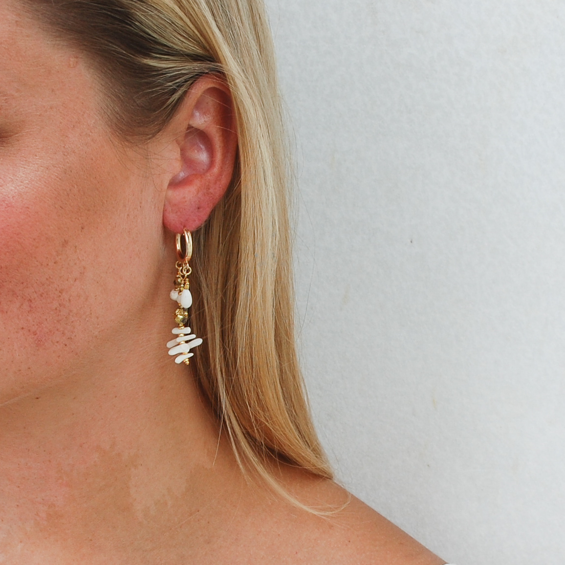 Shore Lovin' Huggie Earrings