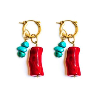 Shell-abrate Huggie Earrings