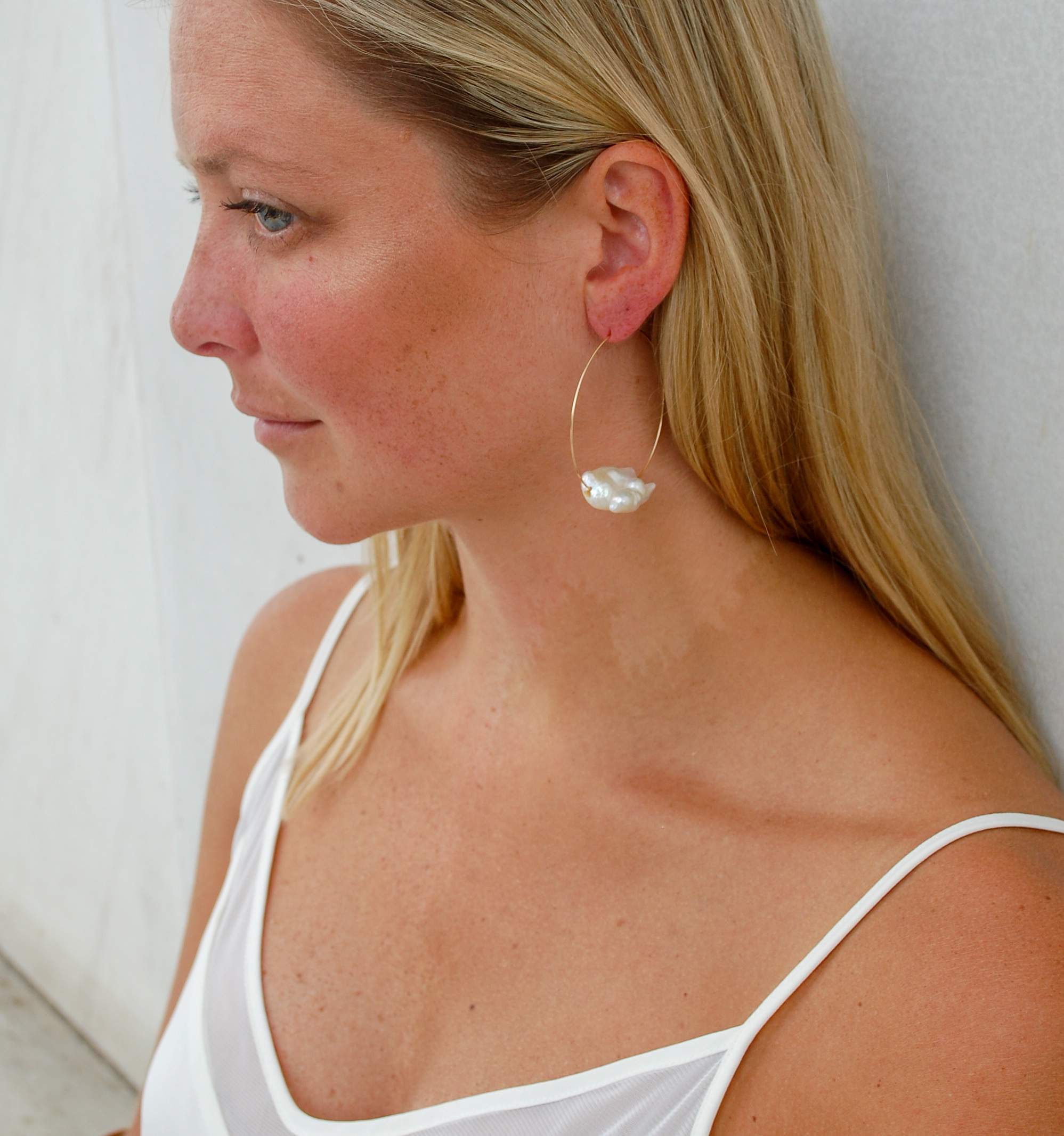Sea-duced Hoop Earrings