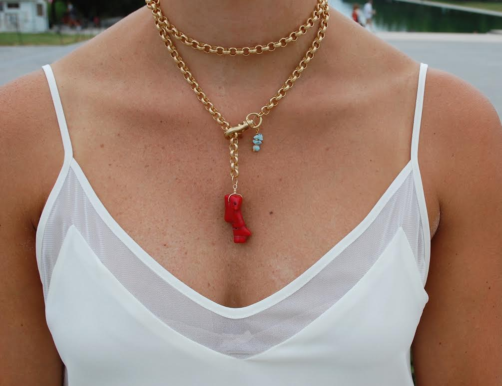 Yeah Buoi Necklace