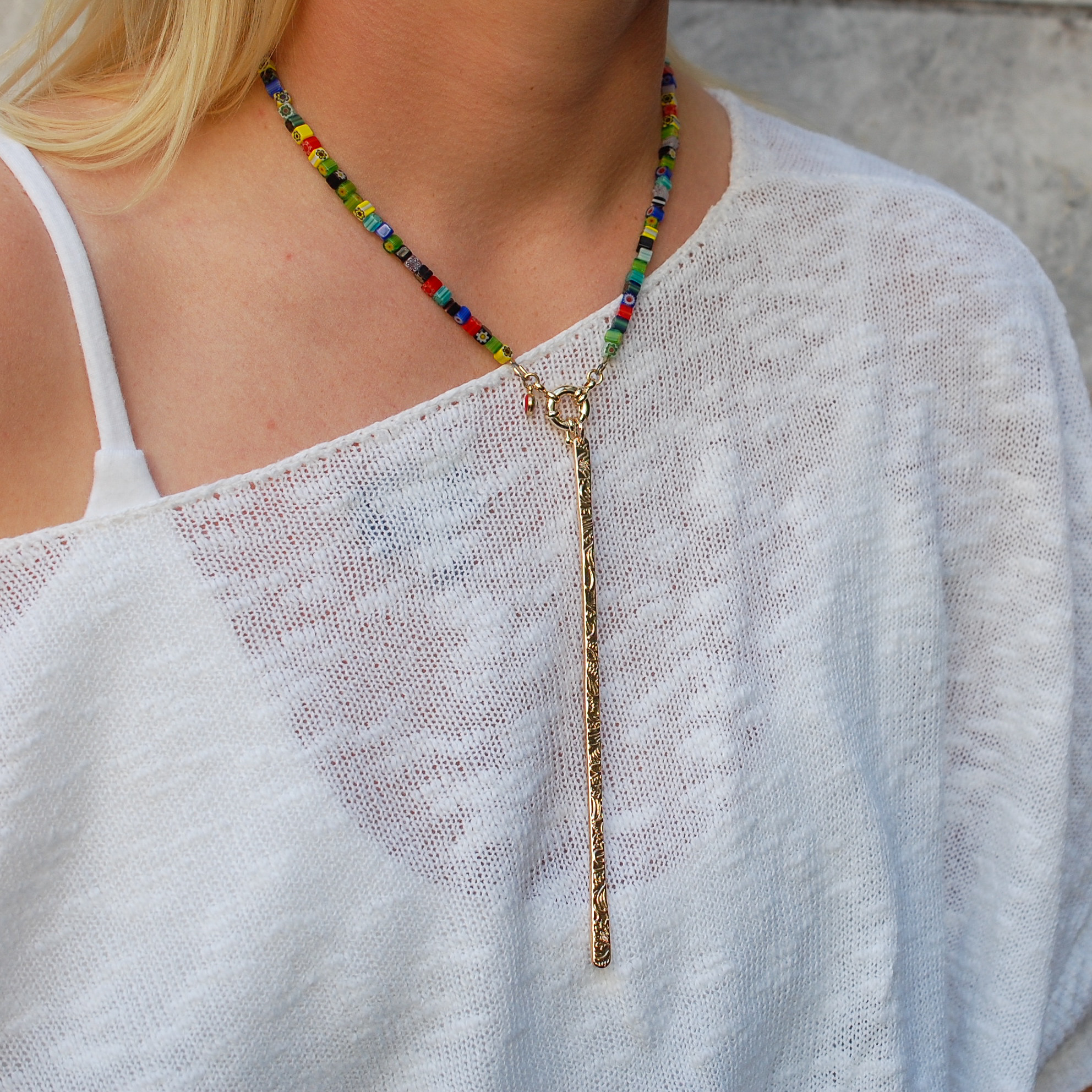 Rainbow Connection Necklace