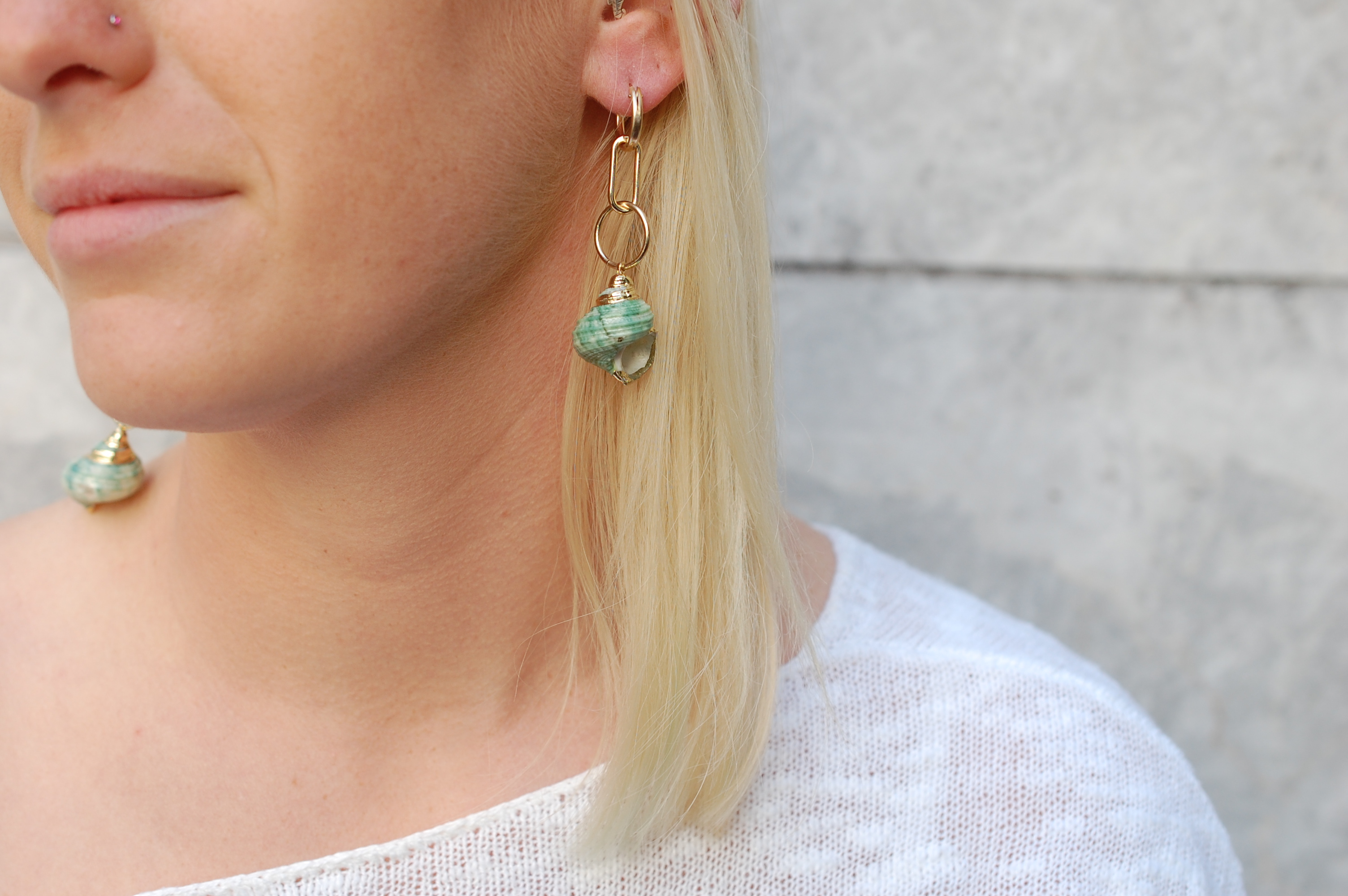Scenic Route Huggie Earrings