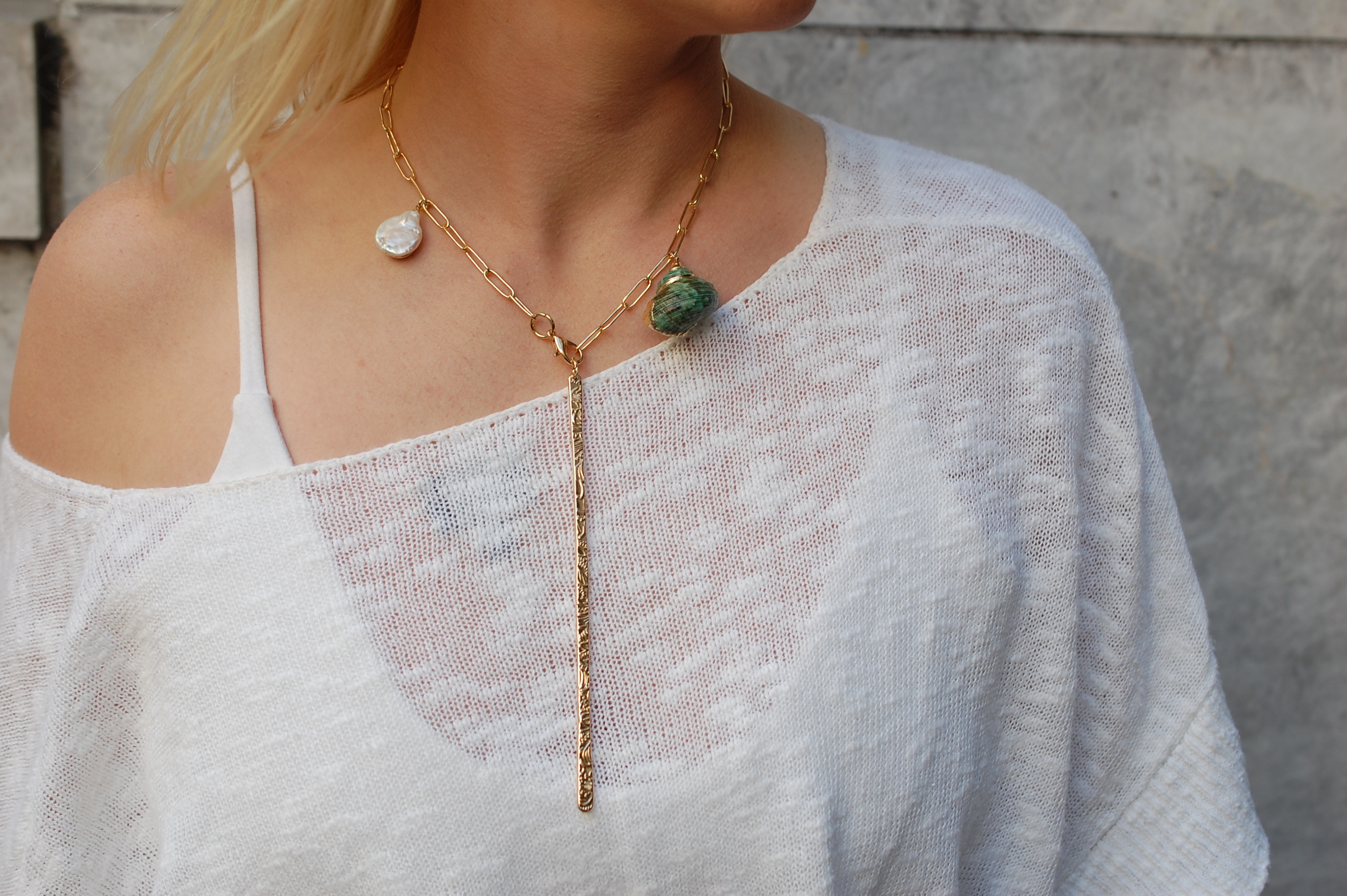 Eye-land Time Necklace