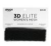Epoch 3D Women Lacrosse Mesh Black