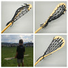 Traditional Lacrosse Youth Wooden Stick Black - 36 inches