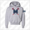 MacLax Youth Champion - Double Dry Eco Youth Hooded Sweatshirt