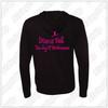 Dancin' Feet - Youth Independent Trading Co. Lightweight Special Blend Raglan Zip Hood