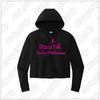 Dancin' Feet - Ladies Sport-Tek ® Ladies PosiCharge ® Tri-Blend Wicking Fleece Crop Hooded Pullover