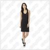 Dancin' Feet - Ladies Alternative - Effortless Cotton Modal Tank Dress