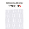 String King 10D Type 3S Mesh White