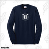 Team Huntington Jerzees Men's Long Sleeve Cotton Tee
