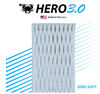 East Coast Dyes ECD Hero 3.0 Semi-Soft Mesh Stringing White