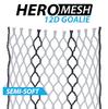 ECD Goalie 12D Hero Black Striker Mesh Stringing- Semi-Soft