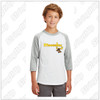 MooseLax Youth Sport-Tek® Colorblock Raglan Jersey