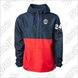 CSH Basketball Independent Trading Co. - Lightweight Windbreaker Pullover Jacket