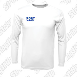 Port Washington Lacrosse B.A.W. Long Sleeve Performance Tee