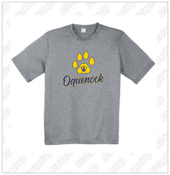 Oquenock Sport-Tek® Performance Heather Contender™ Tee Grey
