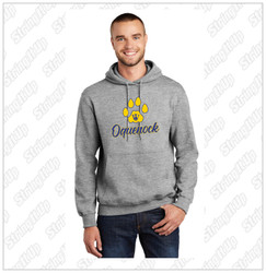 Oquenock Adult Port & Company® - Essential Fleece Pullover Hooded Sweatshirt
