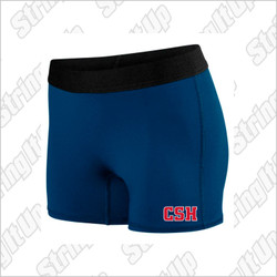 CSH Track & Field Ladies Hyperform Fitted Shorts