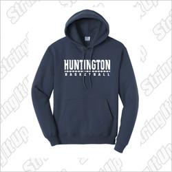 Huntington Basketball Port & Company® - Essential Fleece Pullover Hooded Sweatshirt