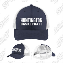 Huntington Basketball Sport-Tek ® Yupoong ® Retro Trucker Cap