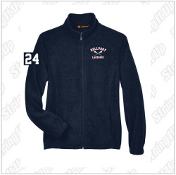 Bellport Harriton Men's 8 oz. Full-Zip Fleece