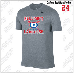 Bellport Lacrosse Nike Legend Dri-Fit Short Sleeve Tee