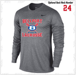 Bellport Lacrosse Nike Legend Dri-Fit Long Sleeve