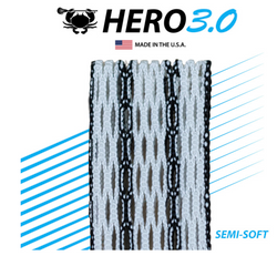 East Coast Dyes ECD Hero 3.0 Semi-Soft Mesh Stringing Black Striker