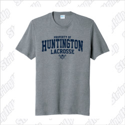 Huntington Lax Adult Port & Company ® Fan Favorite ™ Blend Tee