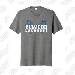 Elwood Lax Adult Port & Company ® Fan Favorite ™ Blend Tee