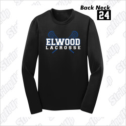 Elwood Lax Adult Sport-Tek® PosiCharge® Competitor™ Long Sleeve