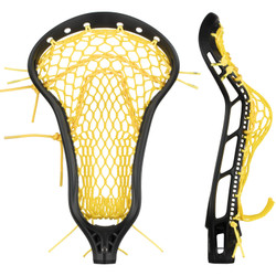 String King Mark 2 Offense Black w/Yellow Mesh Pocket