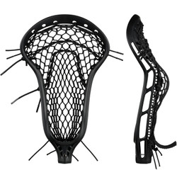 String King Mark 2 Midfield Black w/Black Mesh Pocket