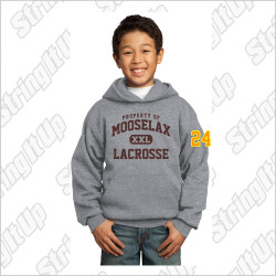 MooseLax Youth Port & Company® Core Fleece Pullover Hooded Sweatshirt