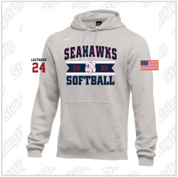 CSH Softball Nike Club Fleece Pullover Hoodie