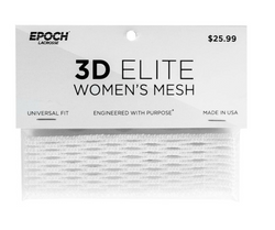Epoch 3D Women Lacrosse Mesh White